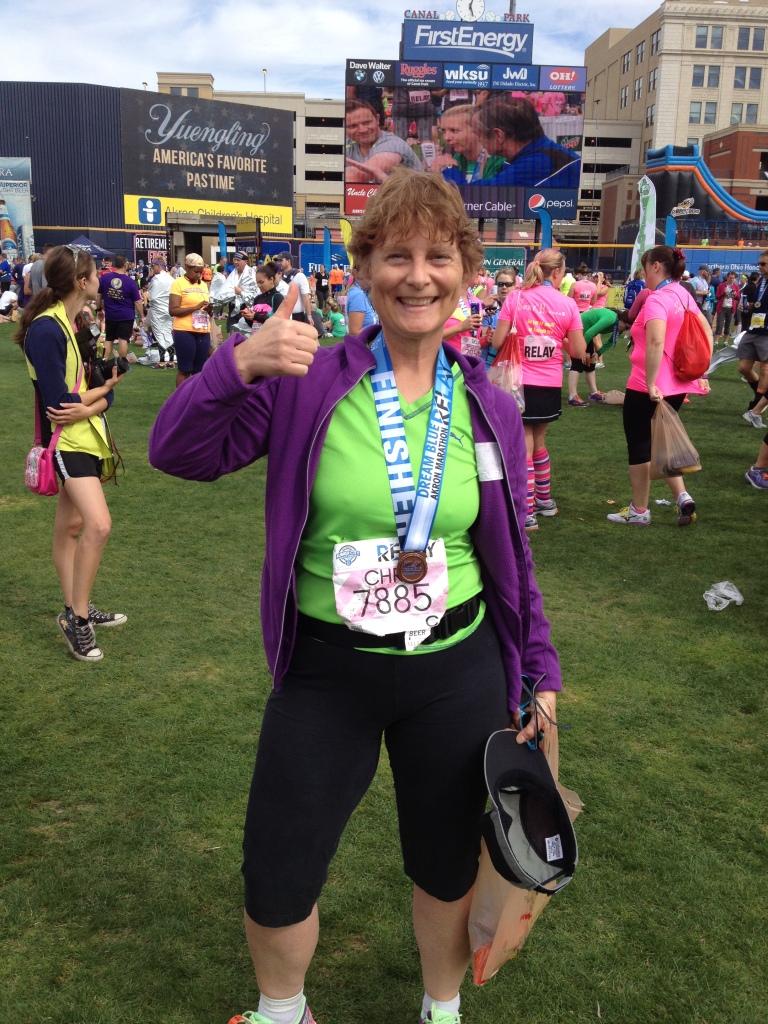 Akron marathon relay